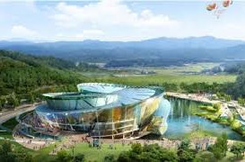 The 2017 World Championships will take place at the new state-of-the-art facility in Muju ©Muju World Taekwondo Centre