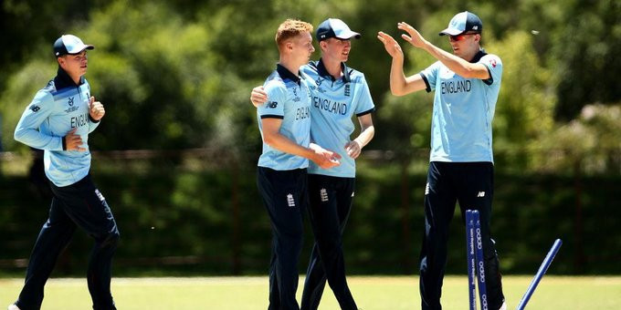 England and Sri Lanka win opening playoff matches at ICC Under-19 World Cup