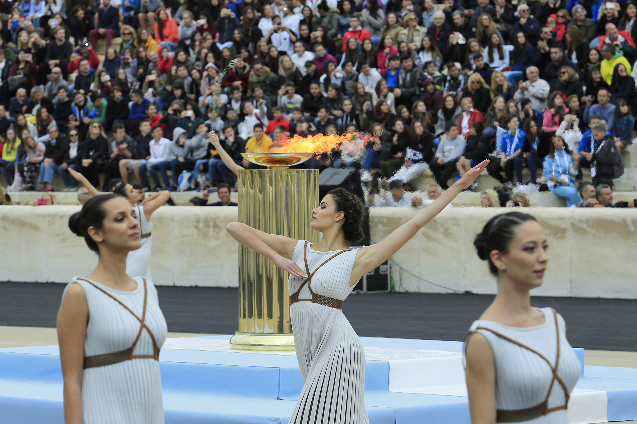 Olympic flame handover Ceremony to Tokyo 2020 to include performance inspired by Japanese culture