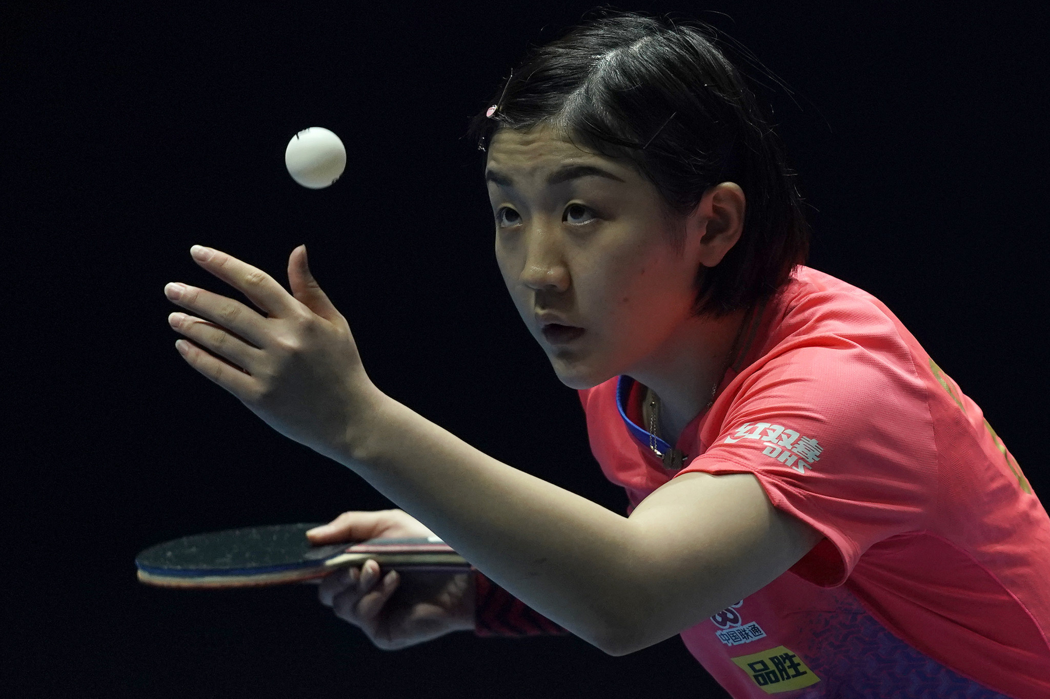 Chen Meng of China in action during the T2 Diamond in 2019 in Singapore ©Getty Images