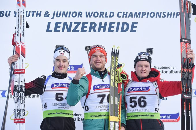 Barchewitz and Khaliullina win individual events at IBU Junior World Champs