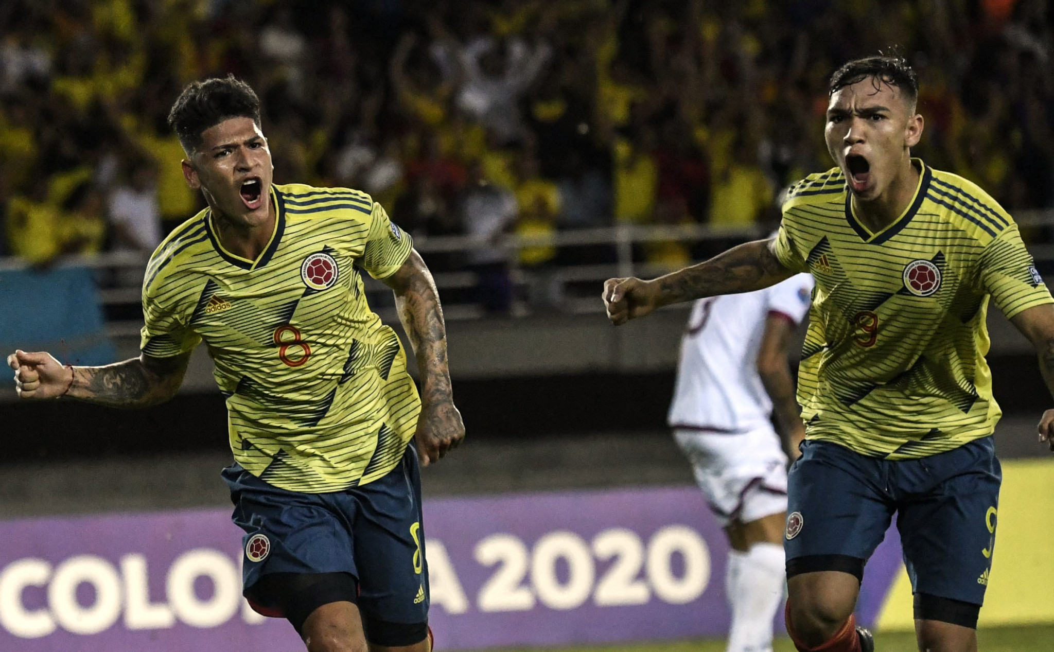 Hosts Colombia came from behind to secure an important win over Venezuela ©Getty Images