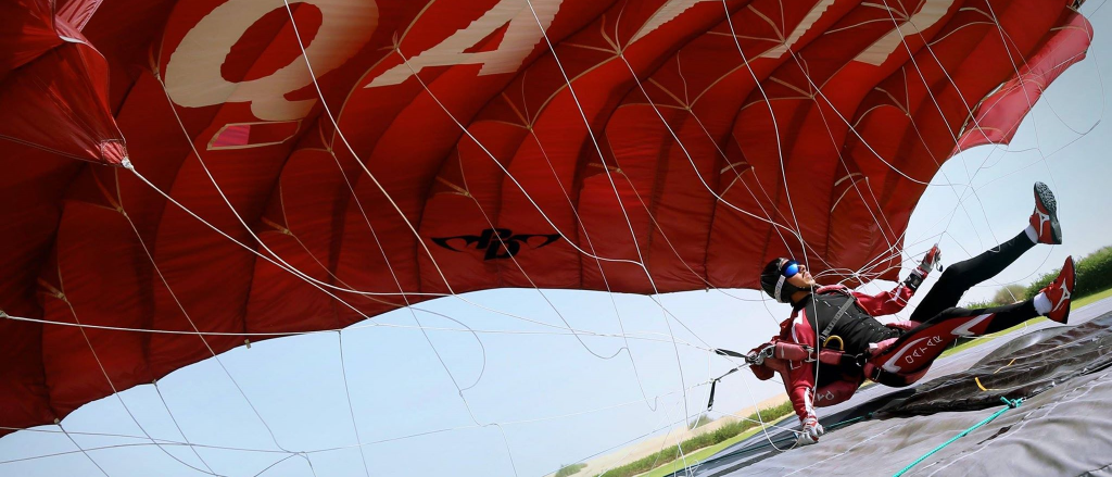 Romanian sets world record to win World Air Games paragliding accuracy gold