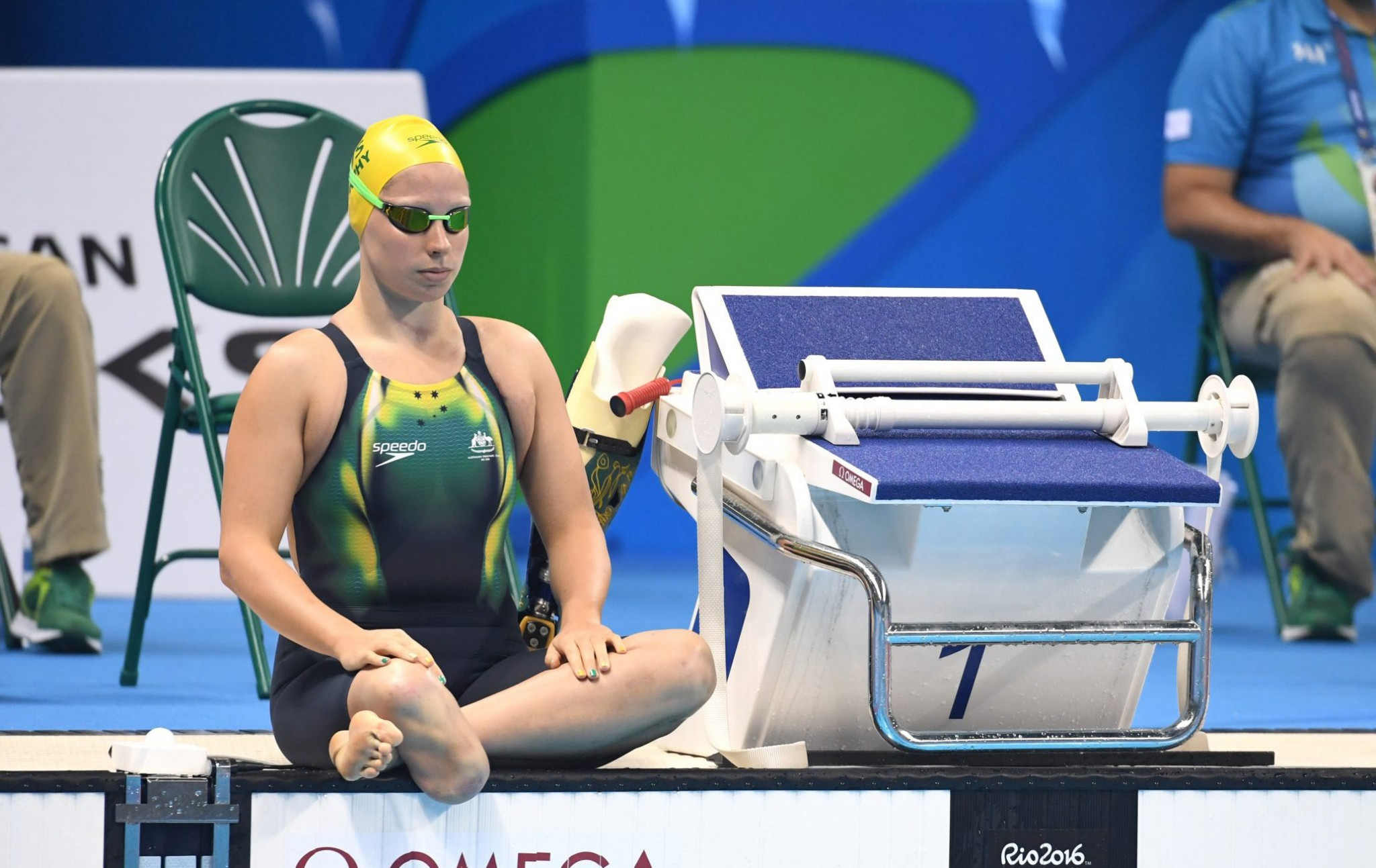 Speedo have partnered with the Australian Paralympic Team for the previous three Games ©Paralympics Australia