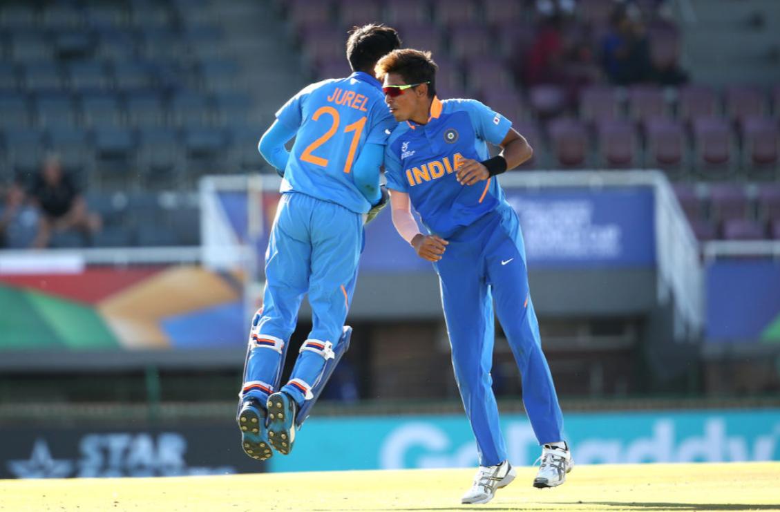 India win quarter-final thriller against Australia at ICC Under-19 World Cup