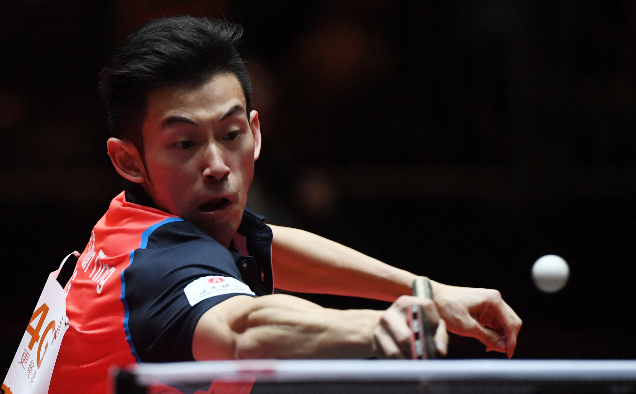 Hong Kong's Wong Chun Ting crashed out of the German Open in his first match ©Getty Images