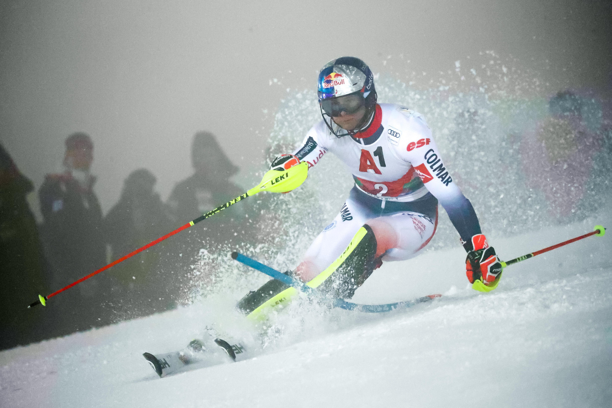 France's Alexis Pinturault was the runner-up ©Getty Images