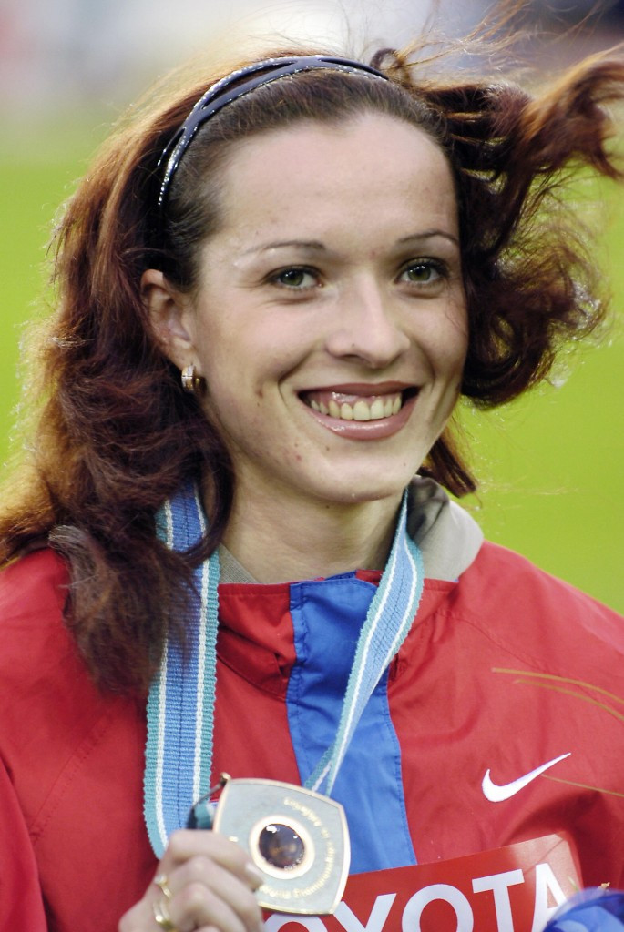 Russia's Tatyana Andrianova has been stripped of the bronze medal she won in the 800m at the 2005 IAAF World Championships after it emerged she tested positive for anabolic steroids after the race ©Getty Images