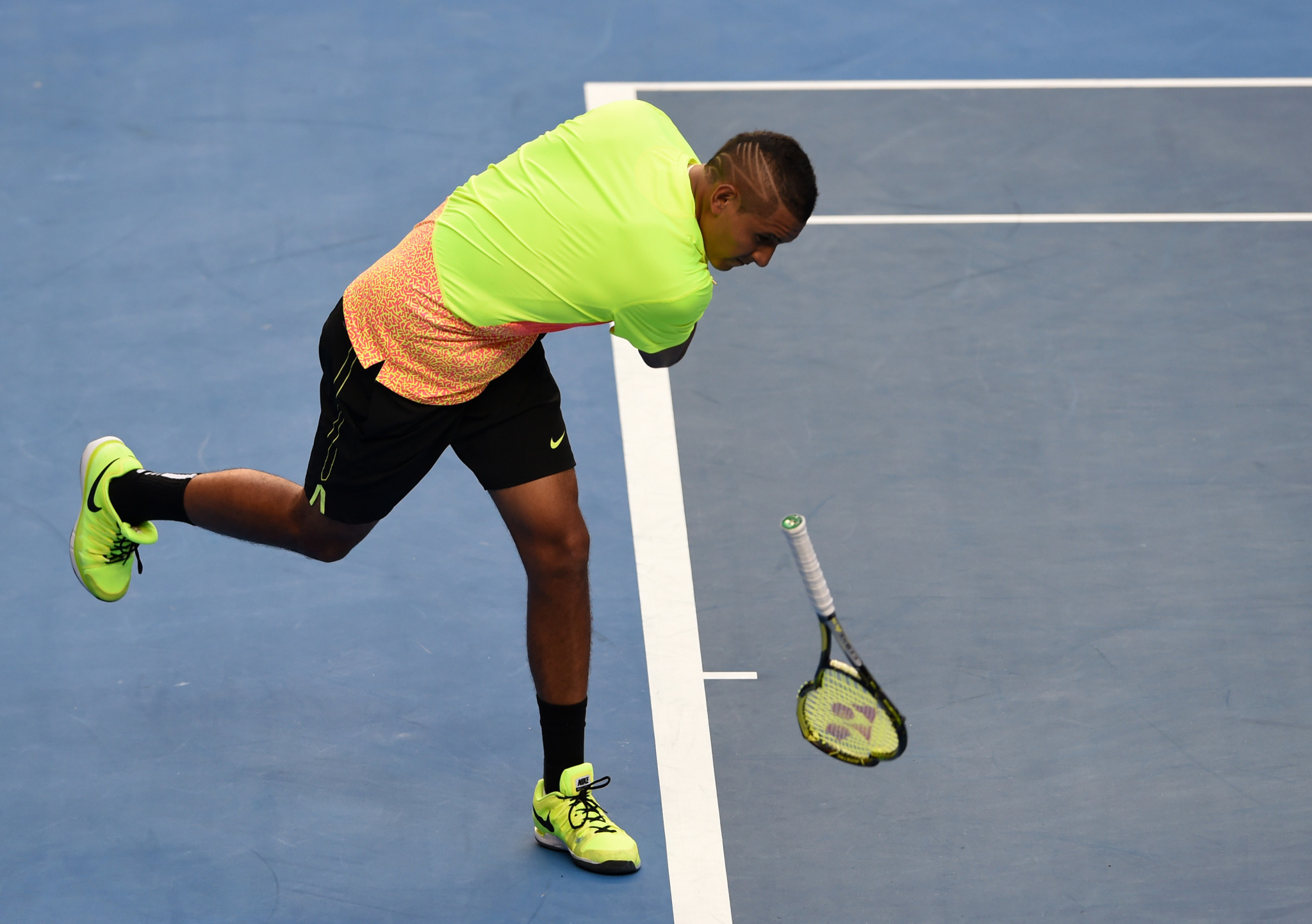 Nick Kyrgios has caused controversy during his career, leading to a row with the AOC which saw the player withdraw from the Rio 2016 Olympics ©Getty Images