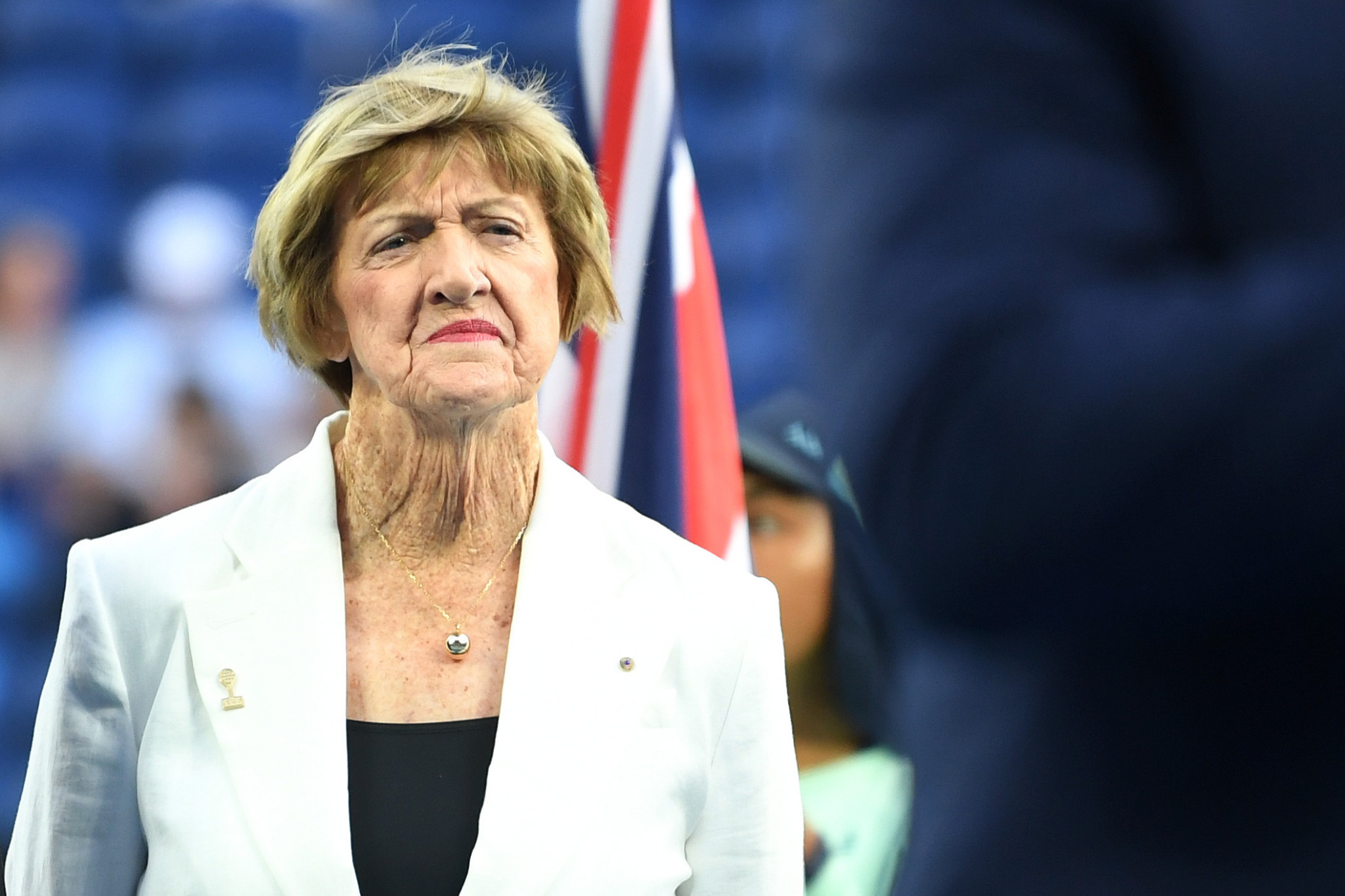 Margaret Court is a controversial figure in tennis ©Getty Images