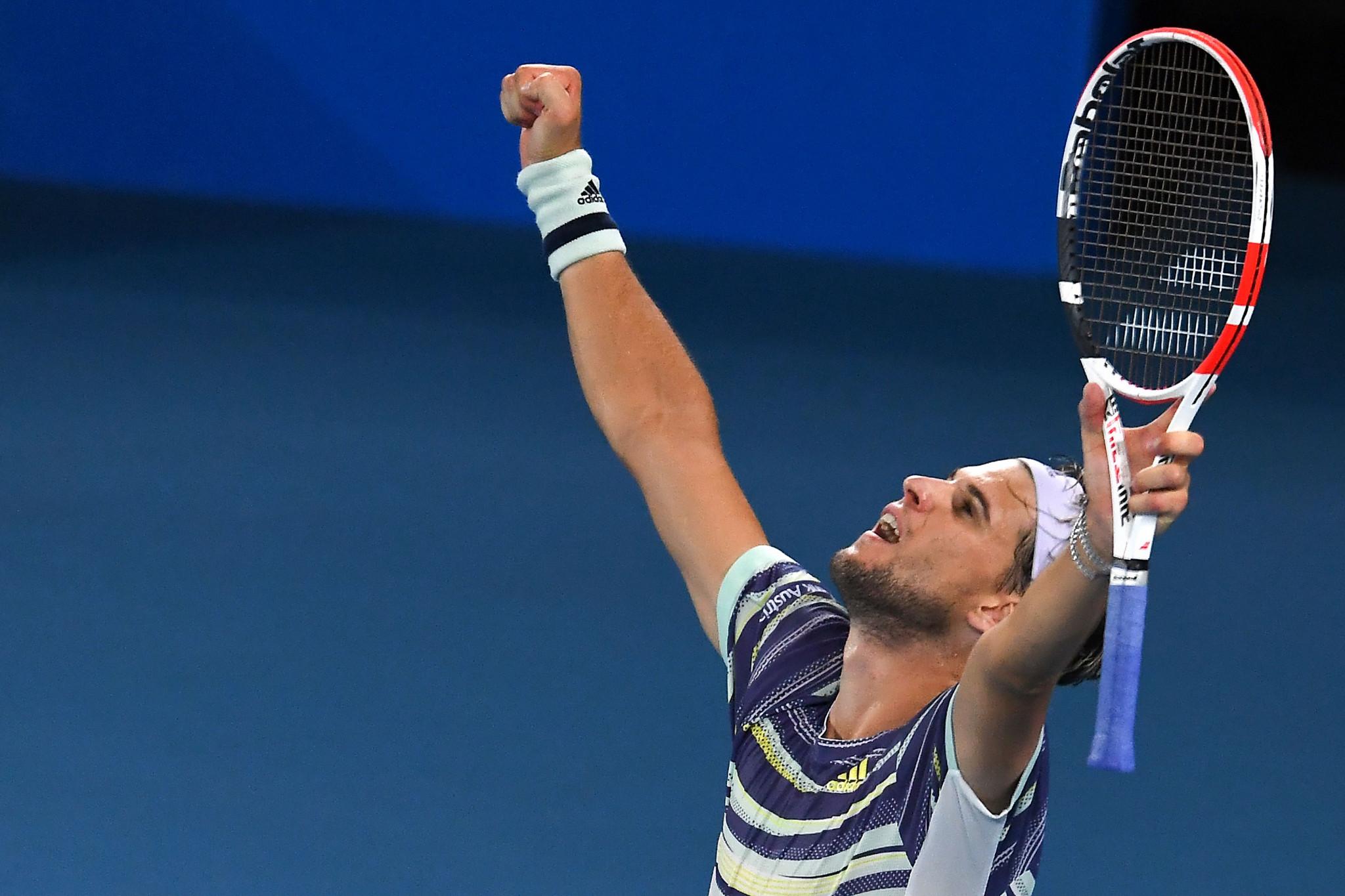 Thiem topples Nadal to reach Australian Open last four