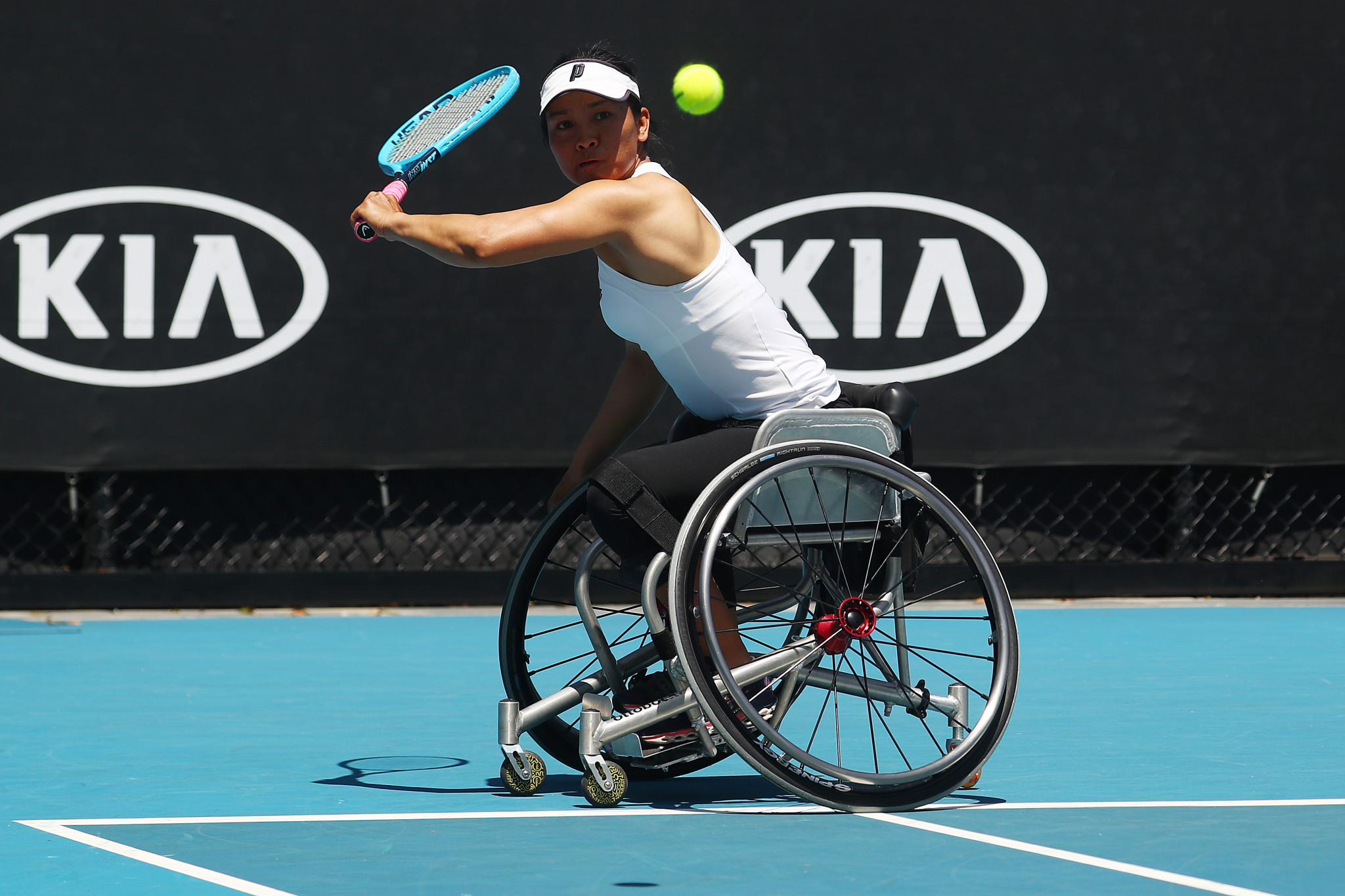Reigning champions sent packing at Australian Open Wheelchair Tennis Championships