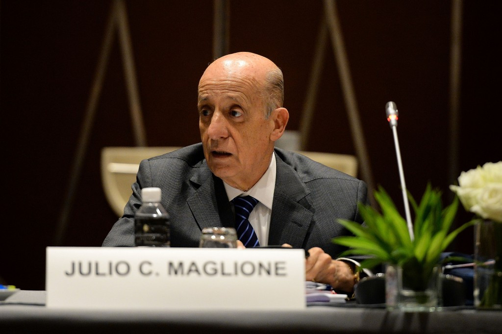 FINA President Julio Maglione has staunchly defended FINA's anti-doping policy ©Getty Images