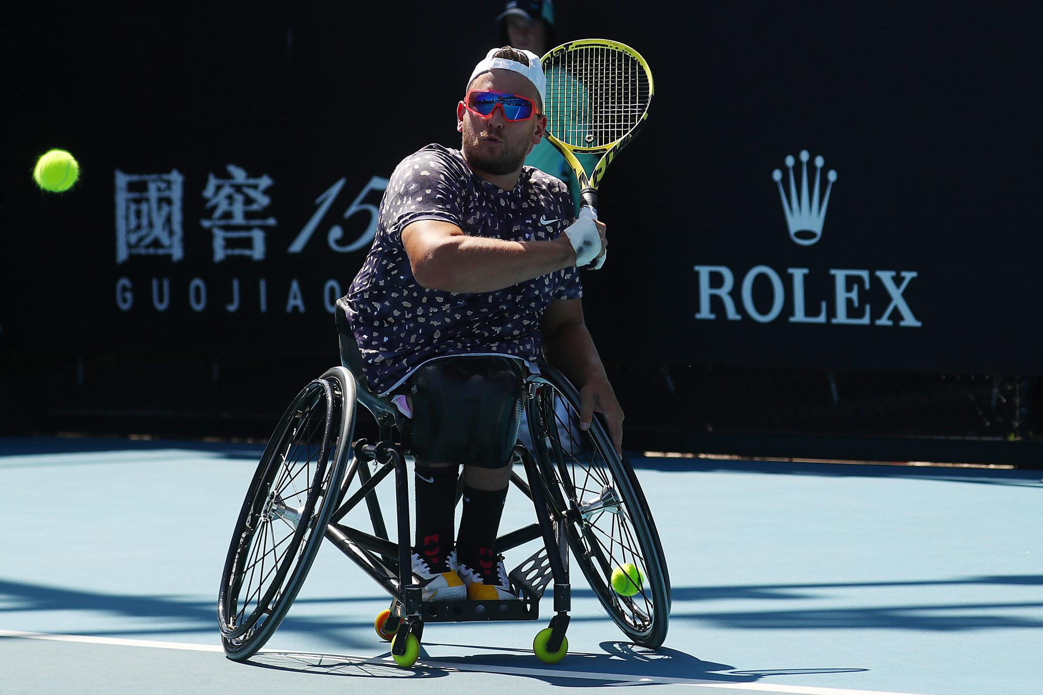 Australia's quads hero Dylan Alcott made a winning start ©Getty Images