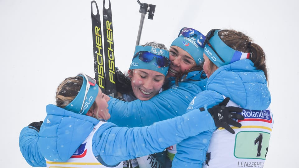 Russia and France win junior relay gold medals at IBU World Youth/Junior Championships
