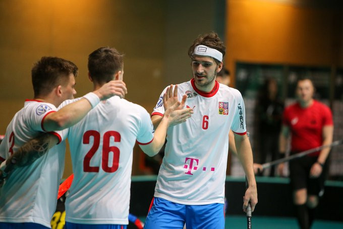 Czech Republic got off to a flying start at their qualification event for the 2020 Men's World Floorball Championships ©IFF/Twitter