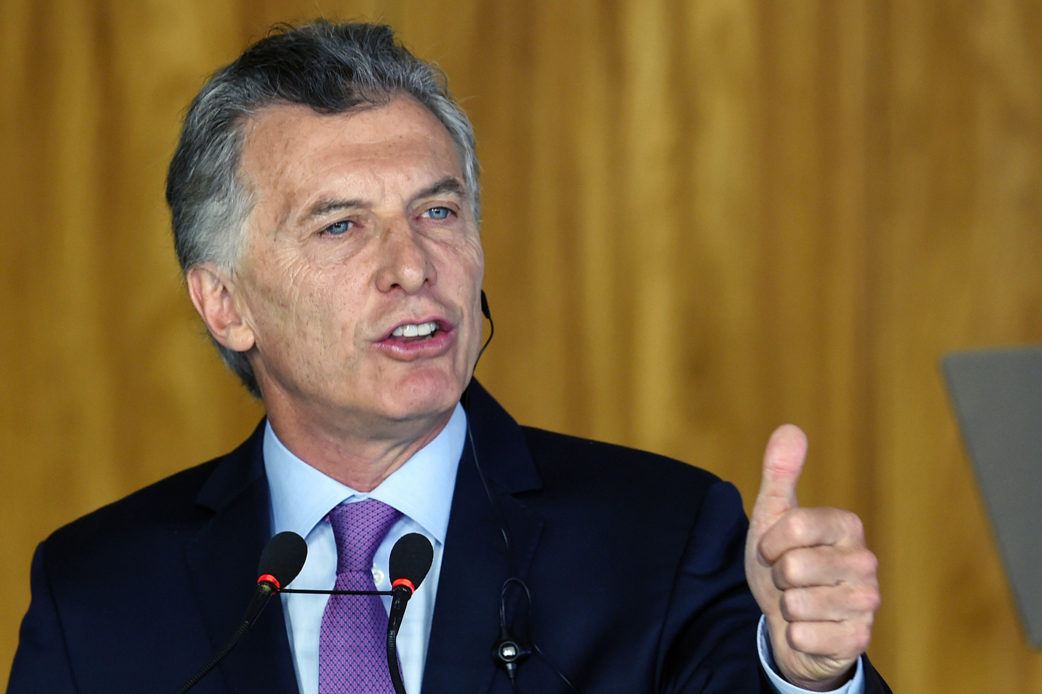 Mauricio Macri has extensive experience in sport and politics ©Getty Images