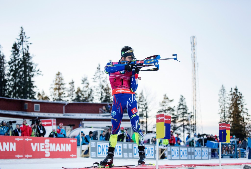 Fourcade clinches second win as IBU World Cup in Östersund ends