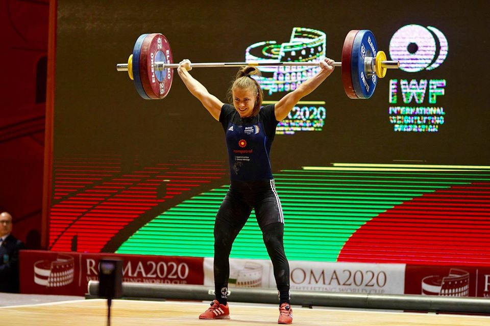 European weightlifting champion Toma breaks three records at Rome World Cup