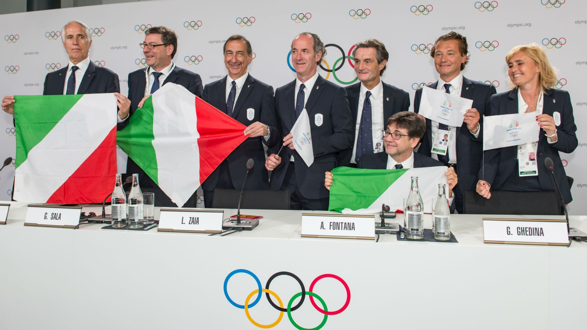 Milan and Cortina d'Ampezzo were awarded the Winter Olympic and Paralympic Game in June ©Getty Images