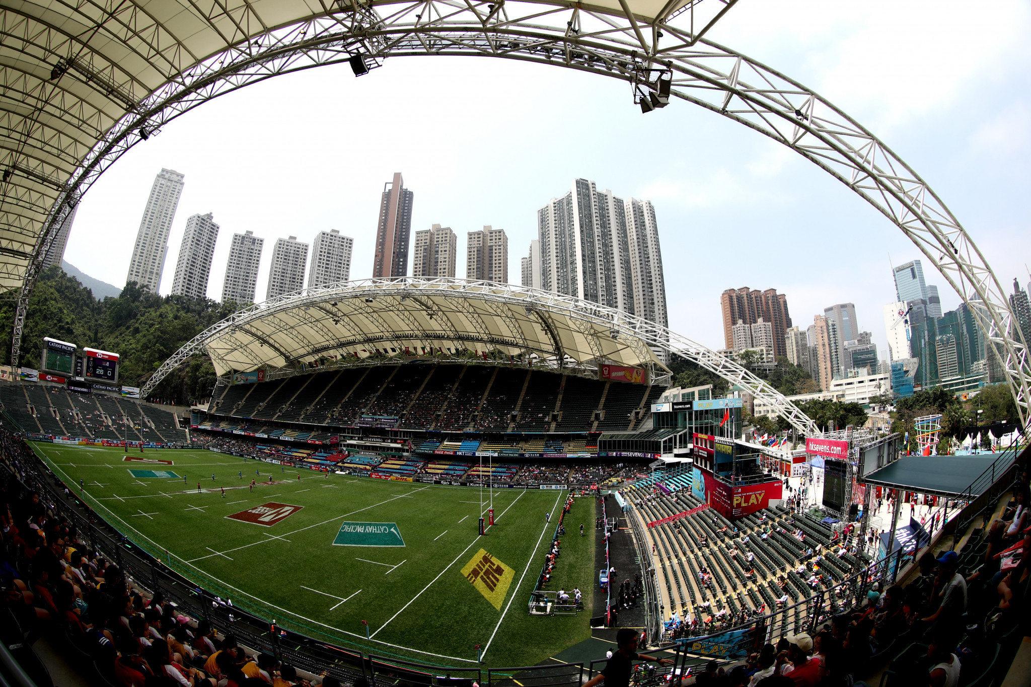 """No plans"" to cancel Hong Kong Sevens due to coronavirus"