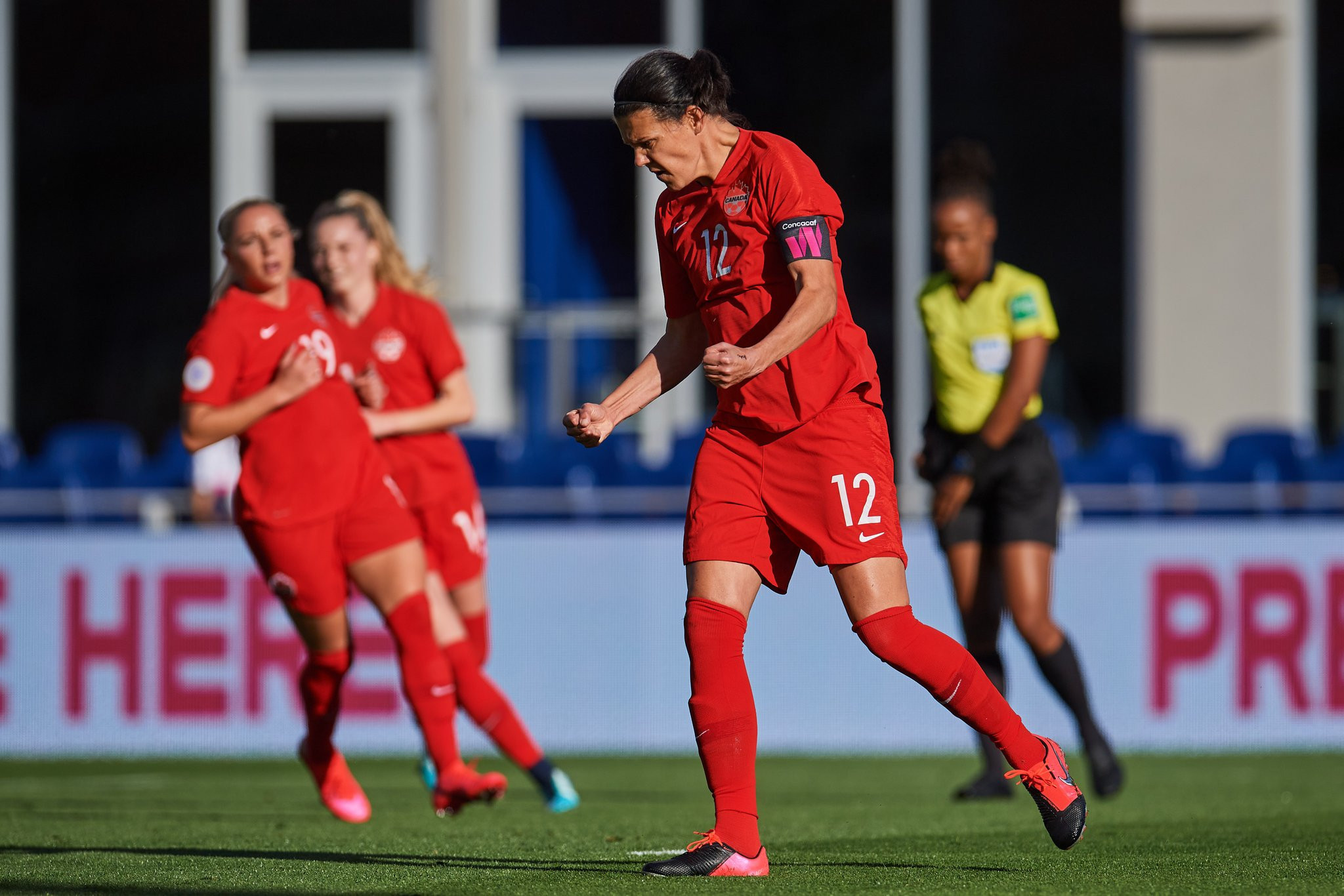 Canada thrash St Kitts and Nevis at CONCACAF Women's Olympic Qualifying Championship