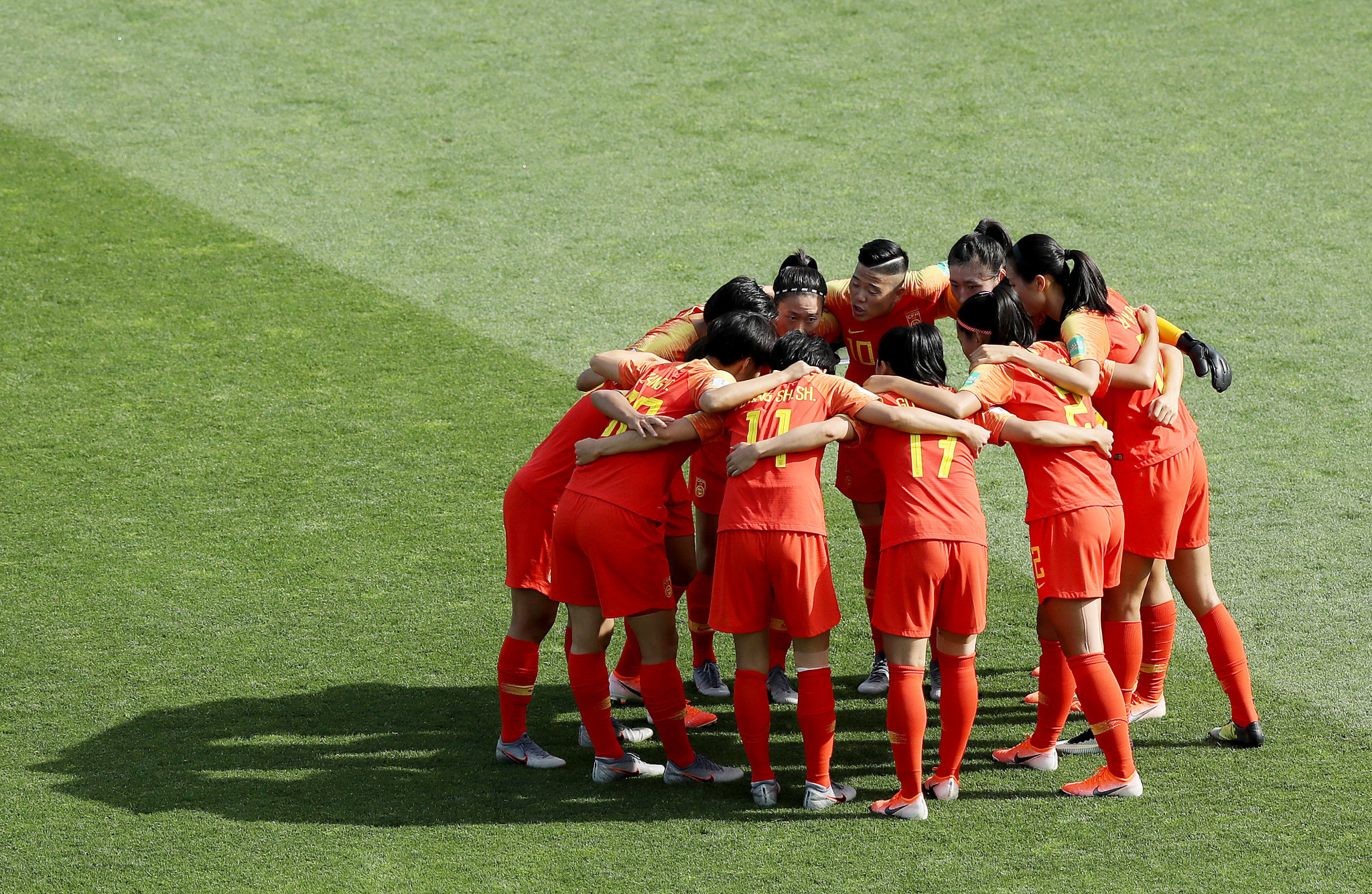 The Chinese women's football team remain in quarantine in Brisbane ©Getty Images