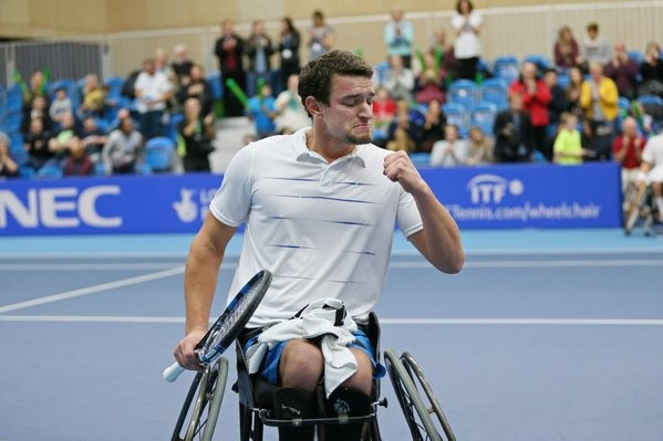 World number six Gerard is top seed for Belgian Wheelchair Tennis Open