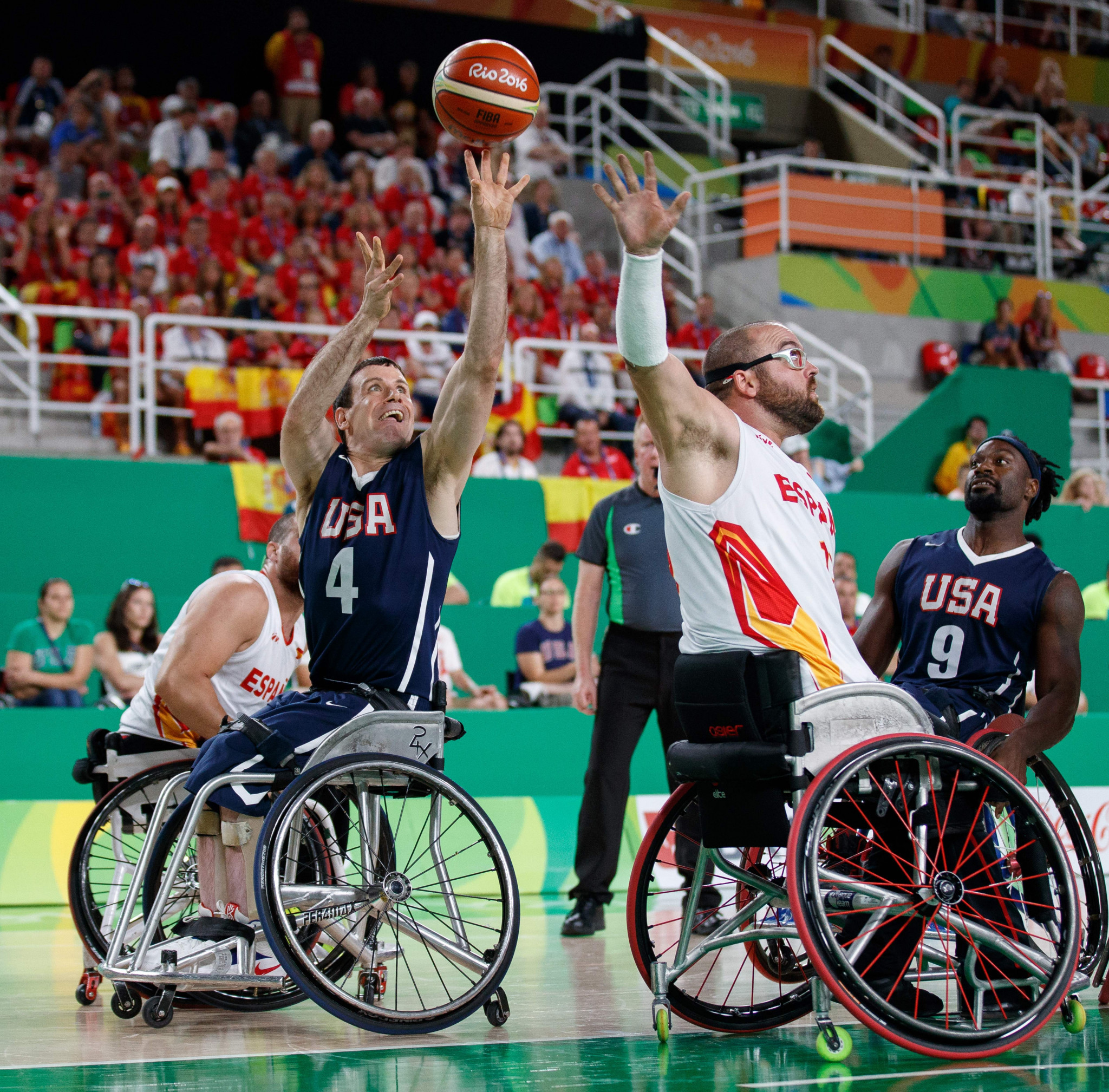 Many wheelchair basketball players could be made ineligible under the new IPC Classification Code ©Getty Images