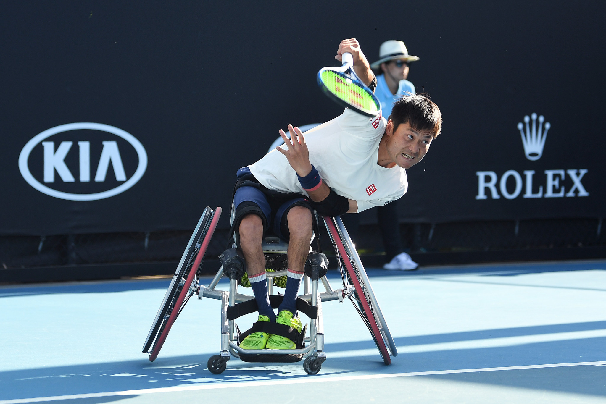 Strong day for Japan at Australian Open Wheelchair Tennis Championships