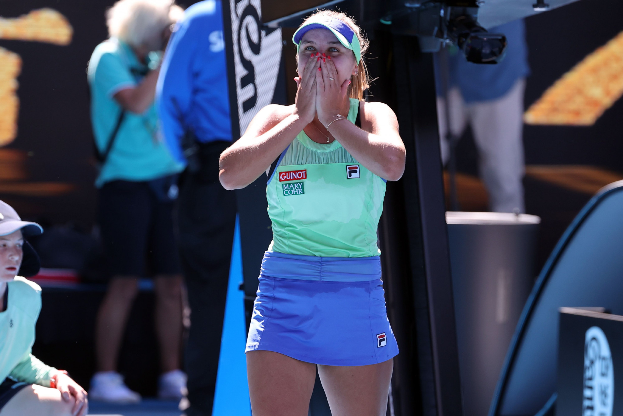 Home heartbreak at Australian Open as Barty departs