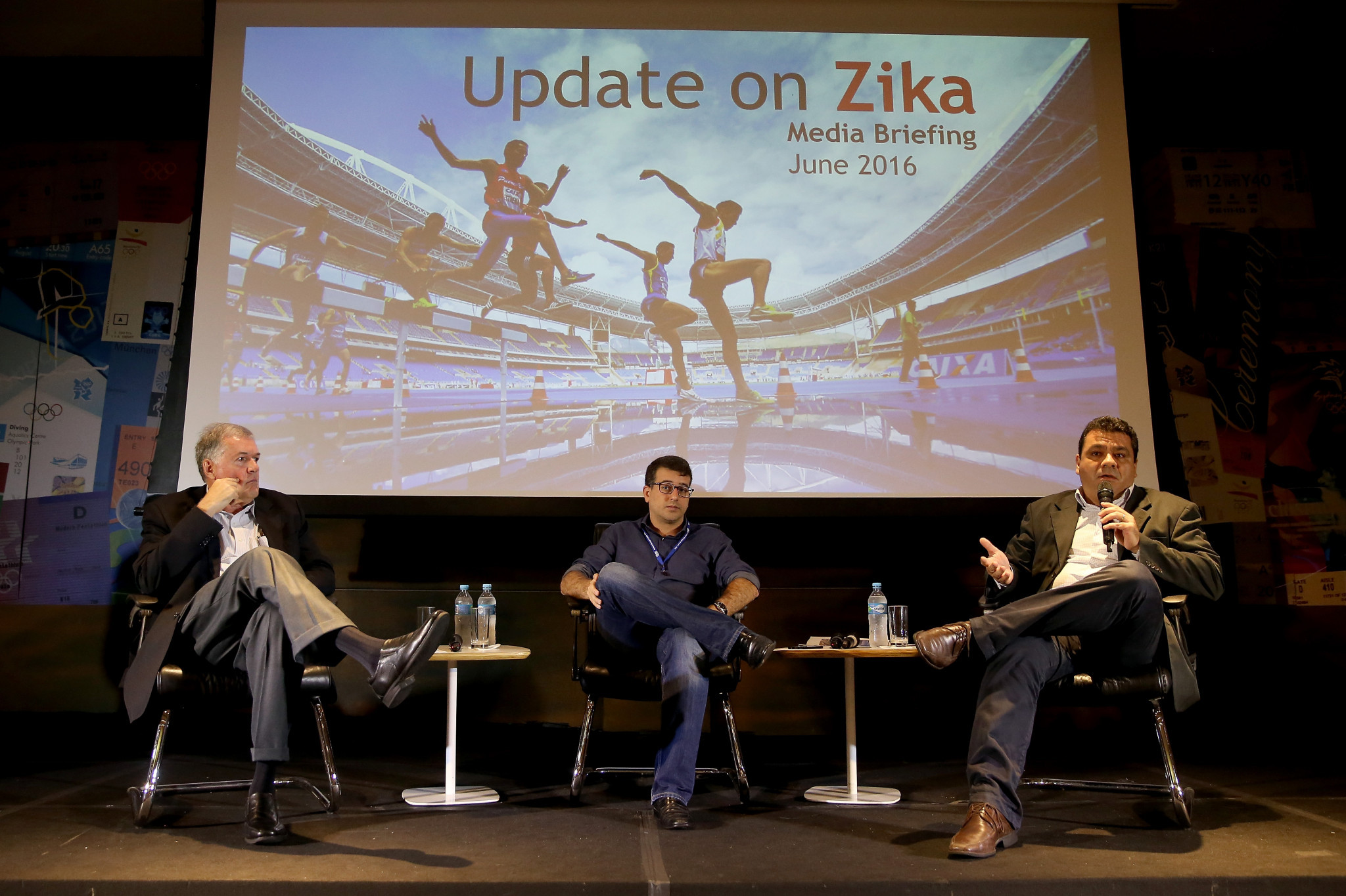 Zika virus was a major concern in the run-up to the Rio 2016 Olympic and Paralympic Games ©Getty Images