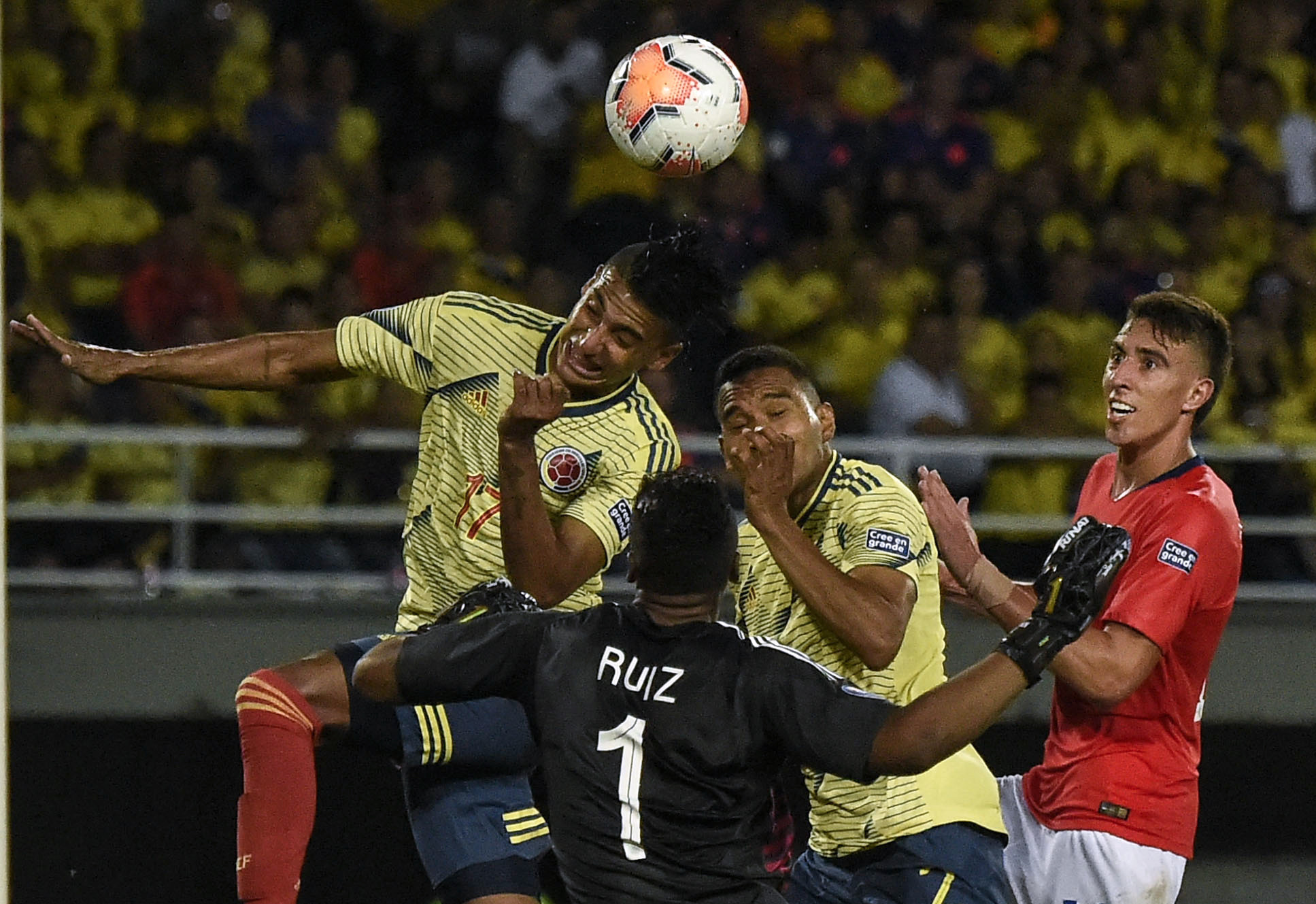 Colombia and Chile couldn't find a breakthrough ©Getty Images