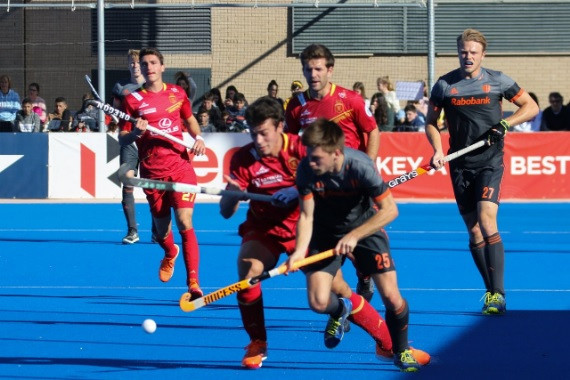 Dutch men beat Spain to record first victory of FIH Pro League season