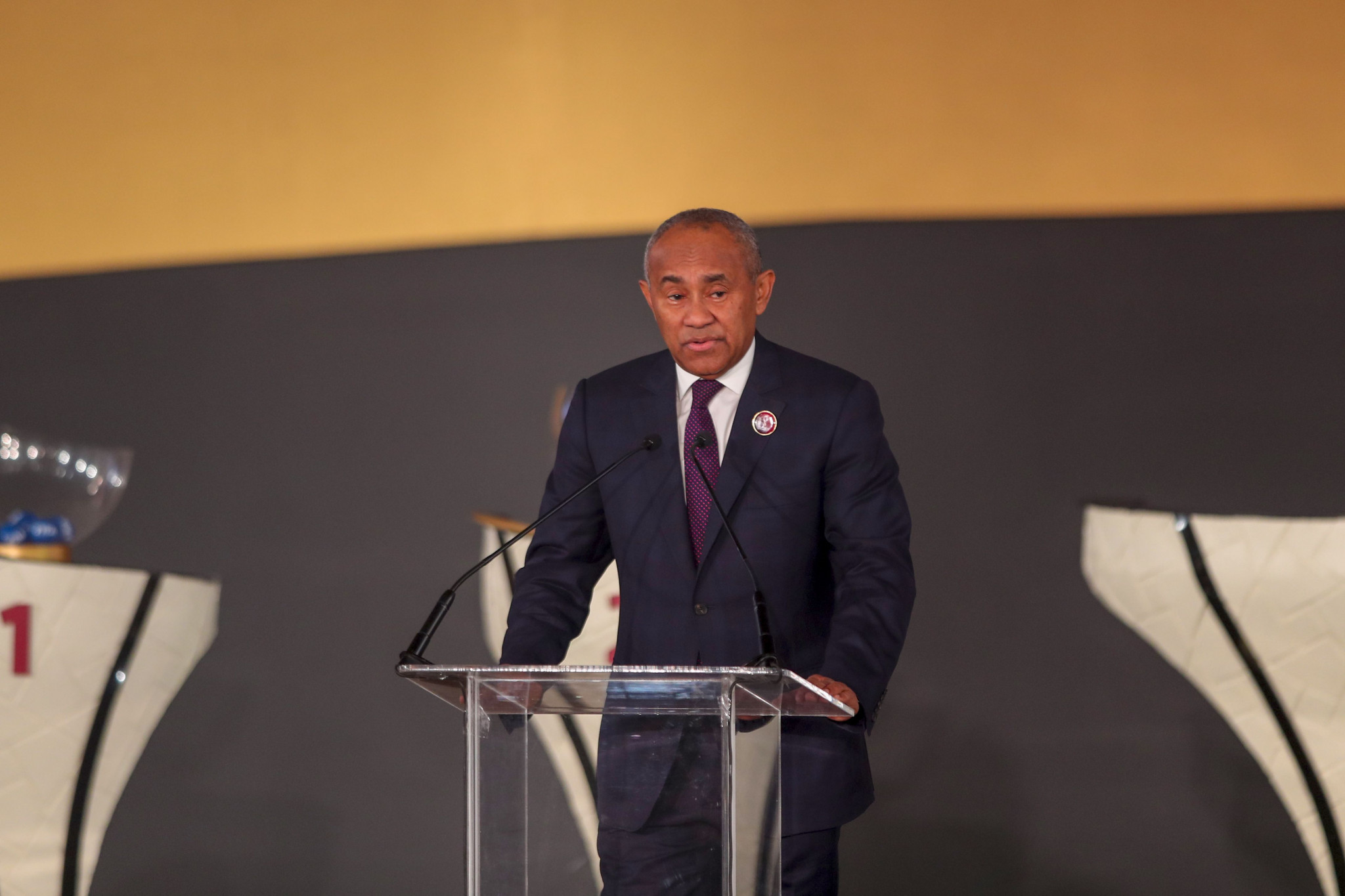 CAF President Ahmad will be among the attendees at a seminar on African football in Morocco tomorrow ©Getty Images