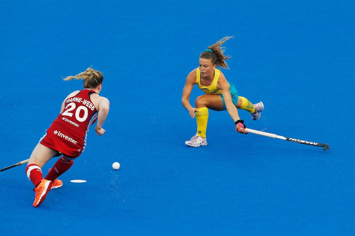Australia strike late to beat Britain in women's FIH Pro League