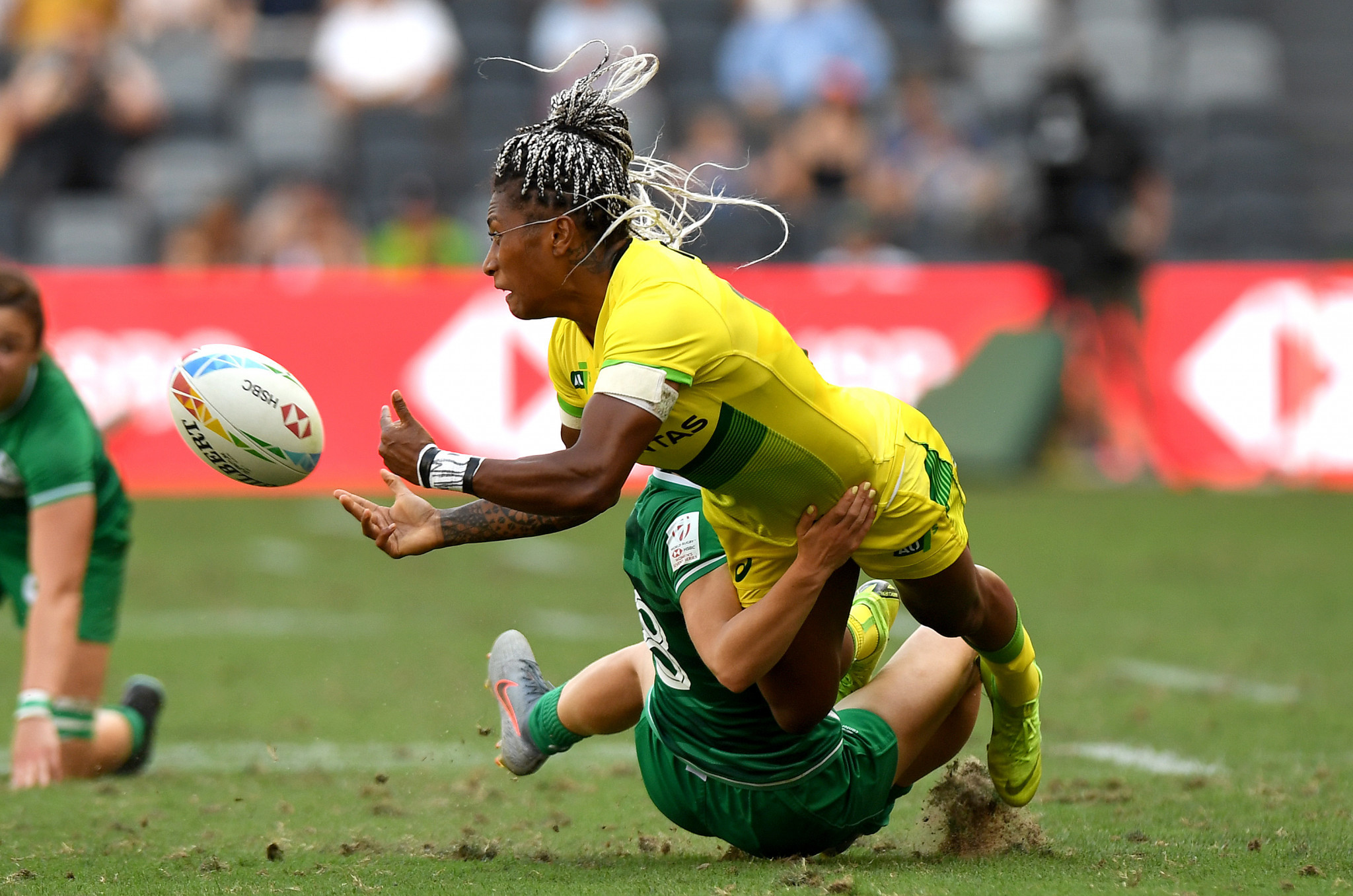Australia make scorching start to women's Sydney Sevens
