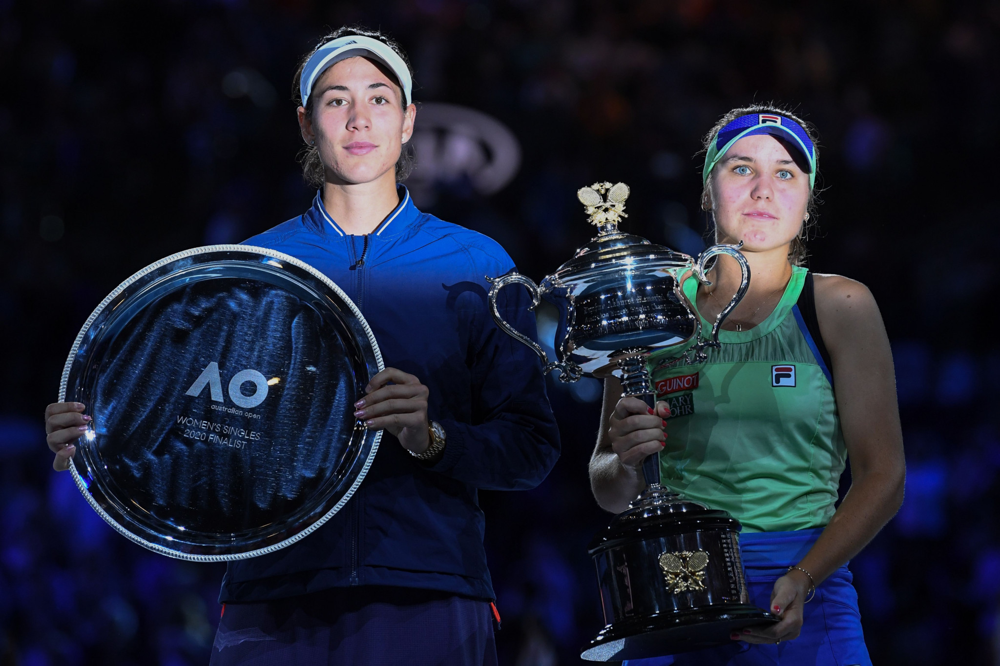 Defeat prevented Muguruza from adding the Australian Open title to her French Open and Wimbledon triumphs ©Getty Images