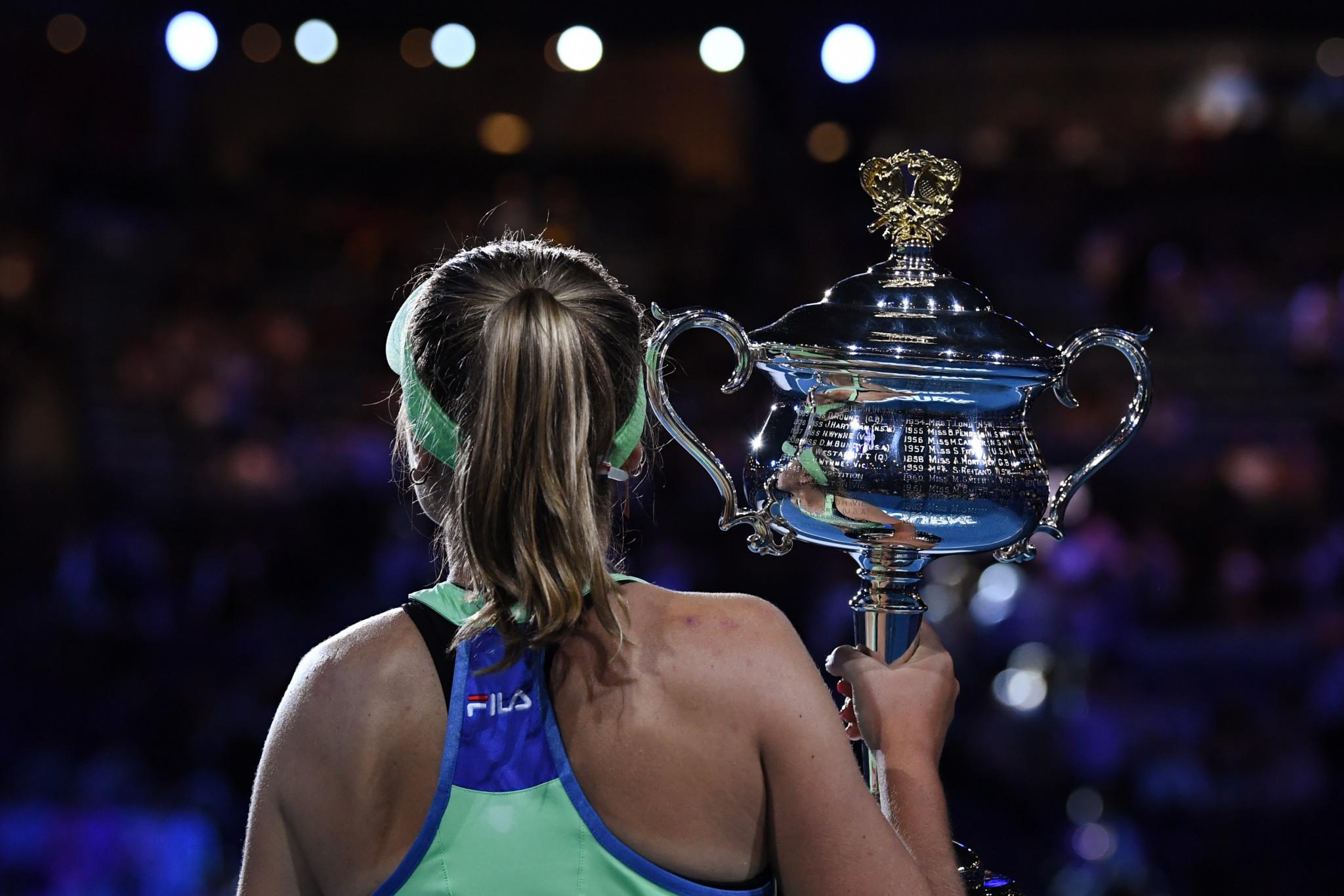 Kenin became the youngest Australian Open women's winner since 2008 ©Getty Images