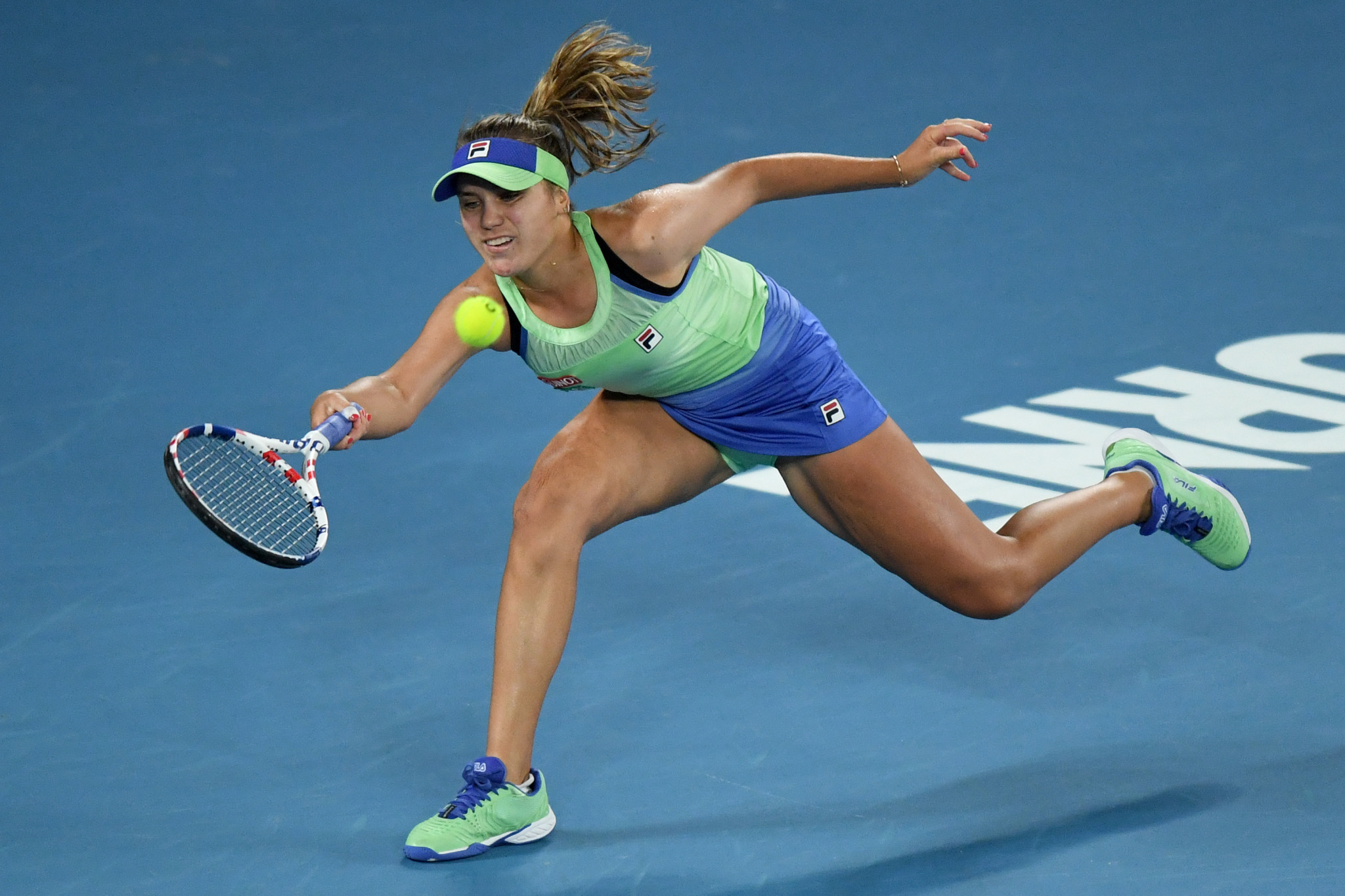 Kenin hit back in the second set to force the match into a decider ©Getty Images