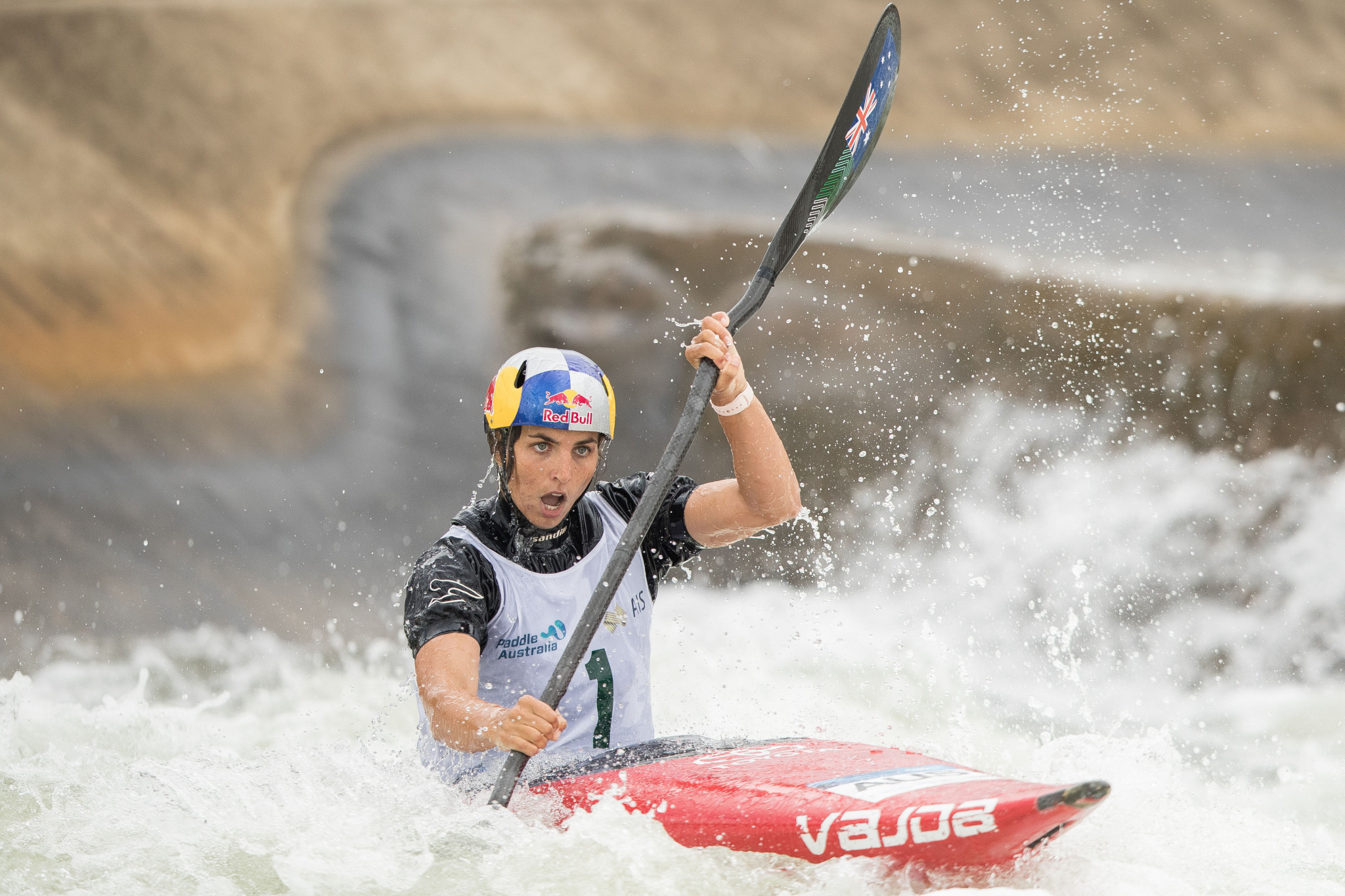 Australians safely through qualifying at Oceania Canoe Slalom Champs