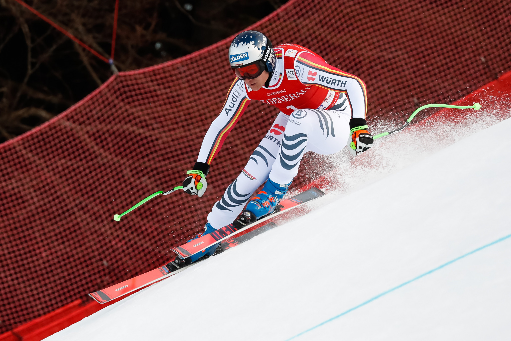 Dressen ends German drought at FIS Alpine Skiing World Cup in Garmisch-Partenkirchen