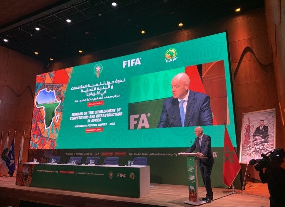 Infantino calls for Africa Cup of Nations to be held every four years