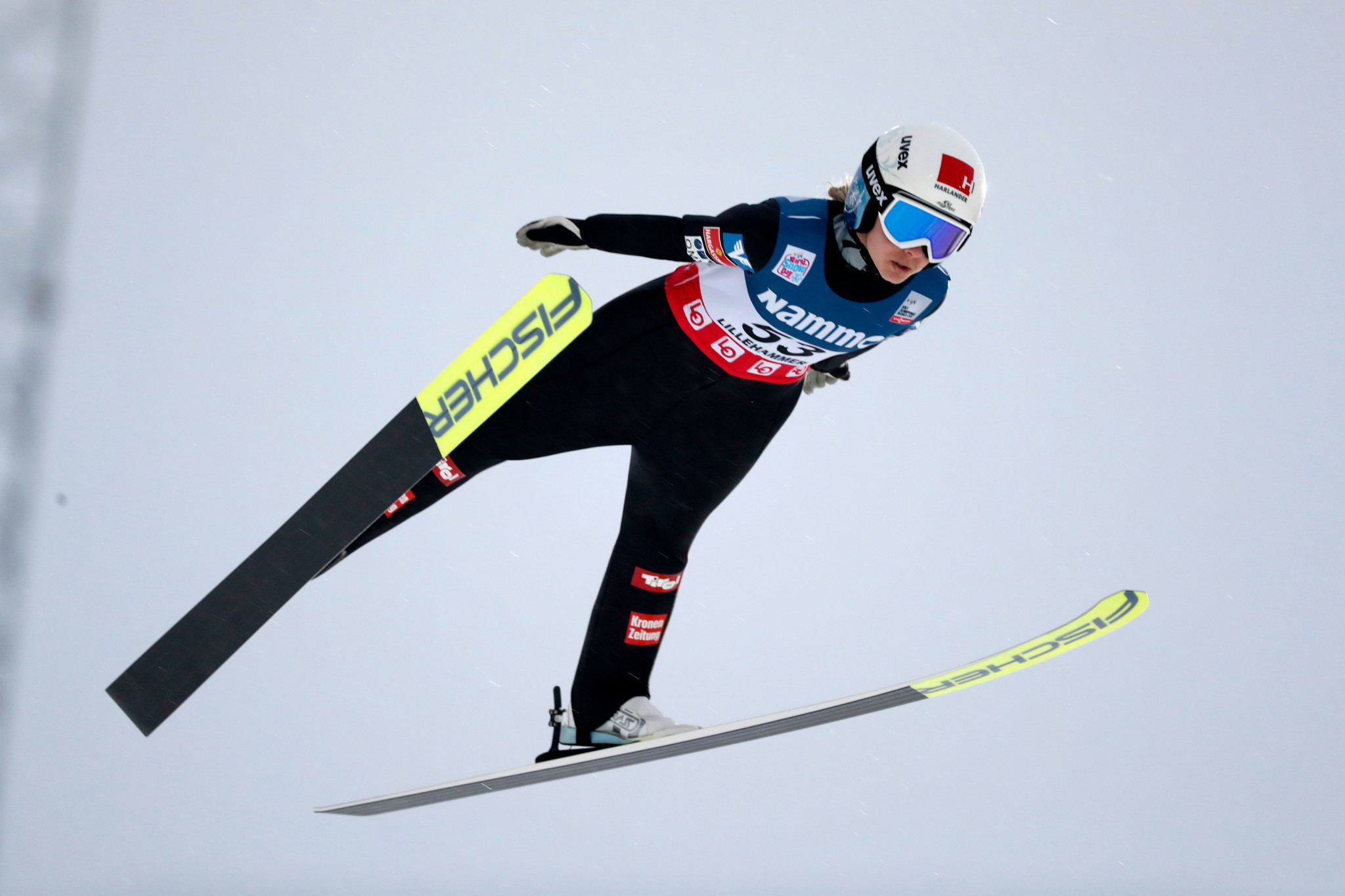 Hölzl wins first of back-to-back Ski Jumping World Cup events in Oberstdorf