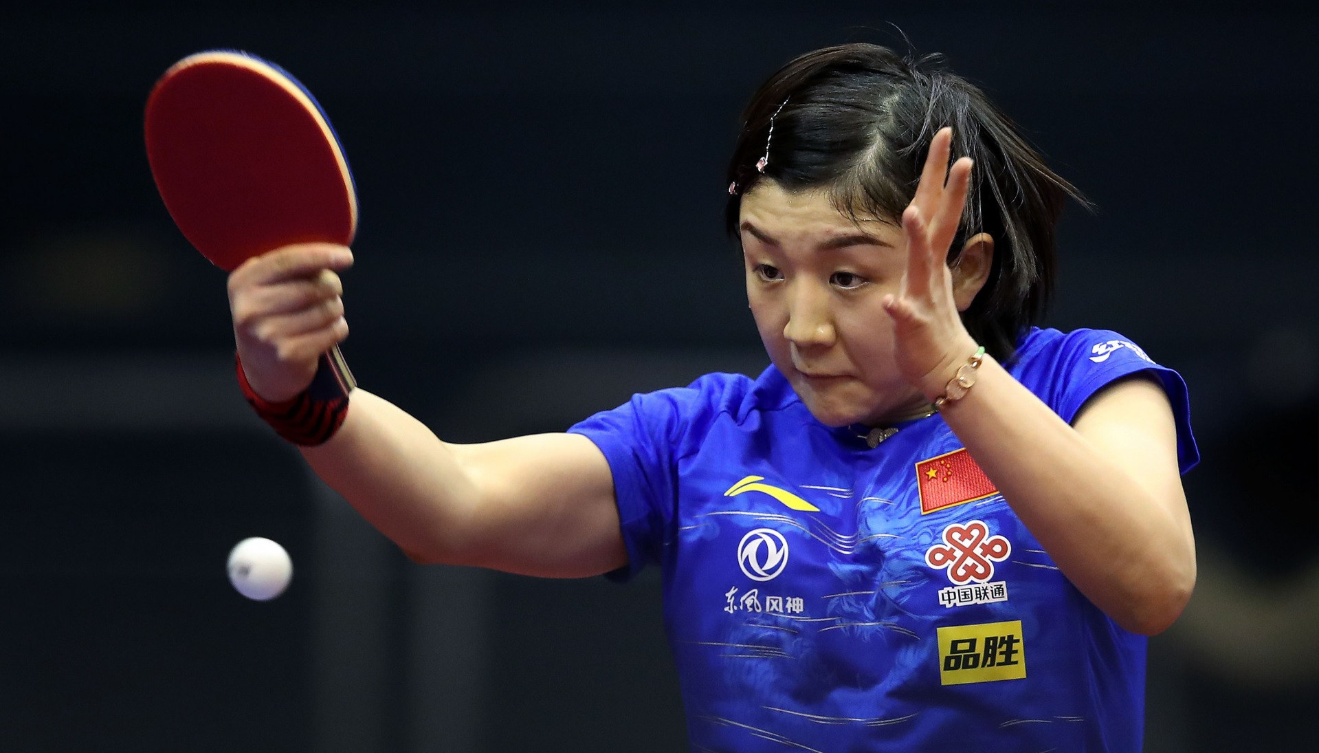 Top seed and world number one Chen Meng came from a game down to reach the semi-finals of the ITTF German Open - ©Getty Images