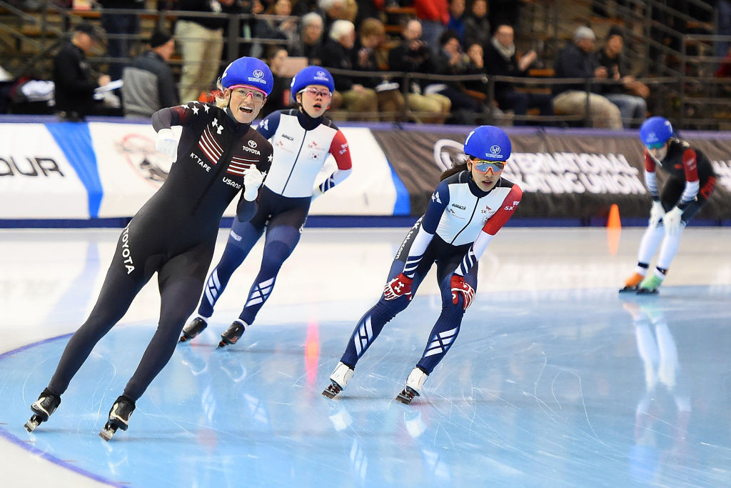 Kilburg-Manganello wins second home gold at ISU Four Continents Speed Skating Championships