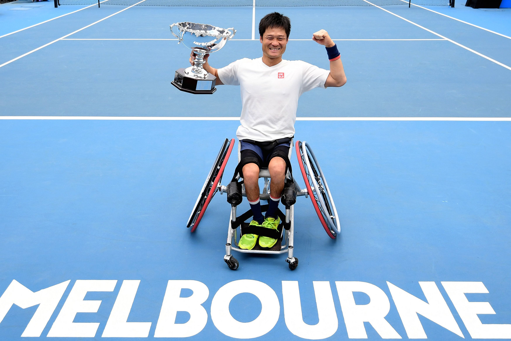 Kunieda wins Australian Open to equal wheelchair Grand Slam record