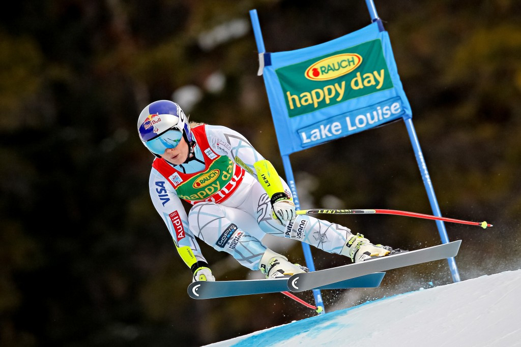 Vonn completes golden treble with third successive FIS Alpine Skiing World Cup victory