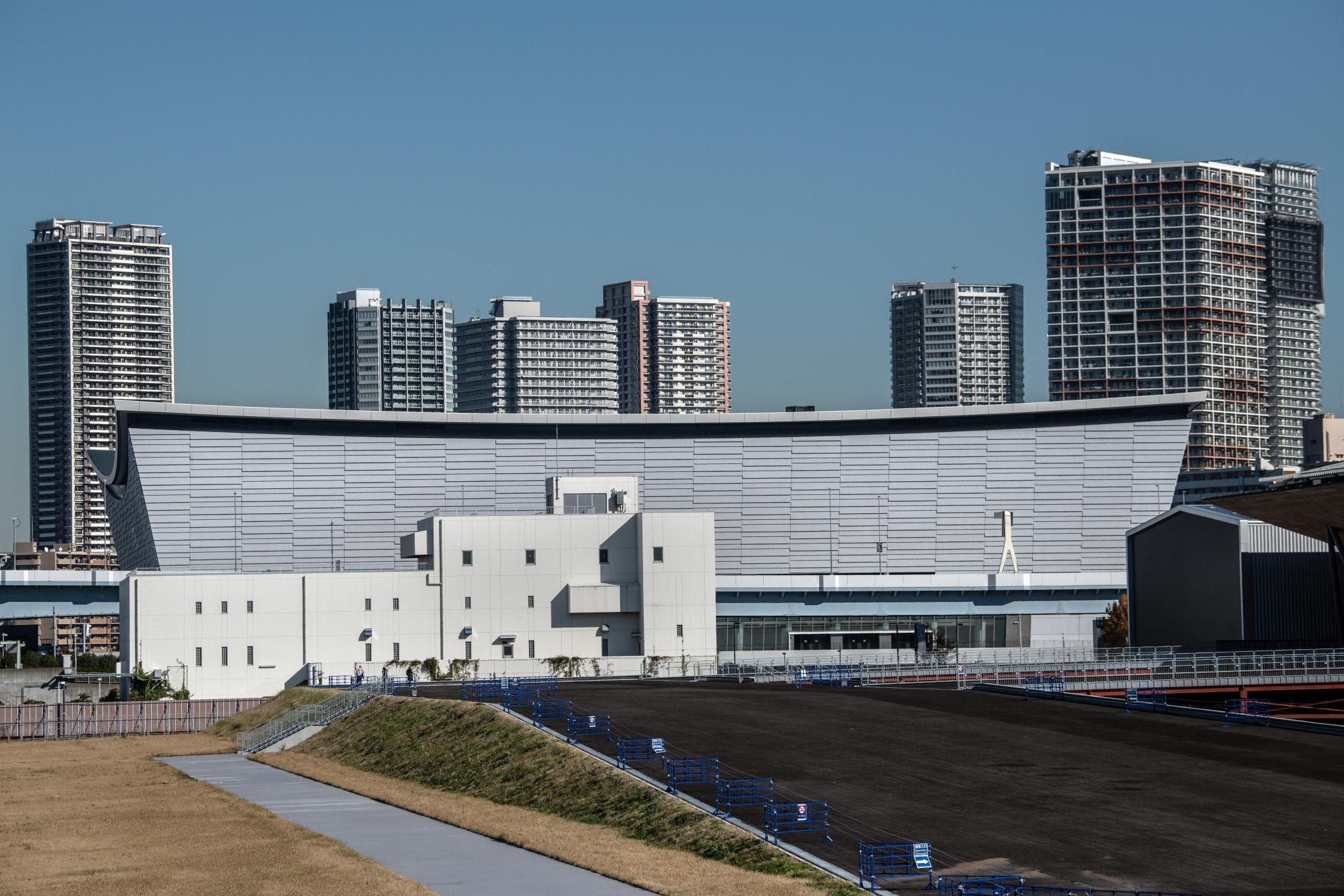 Tokyo 2020 inaugurates Ariake Arena