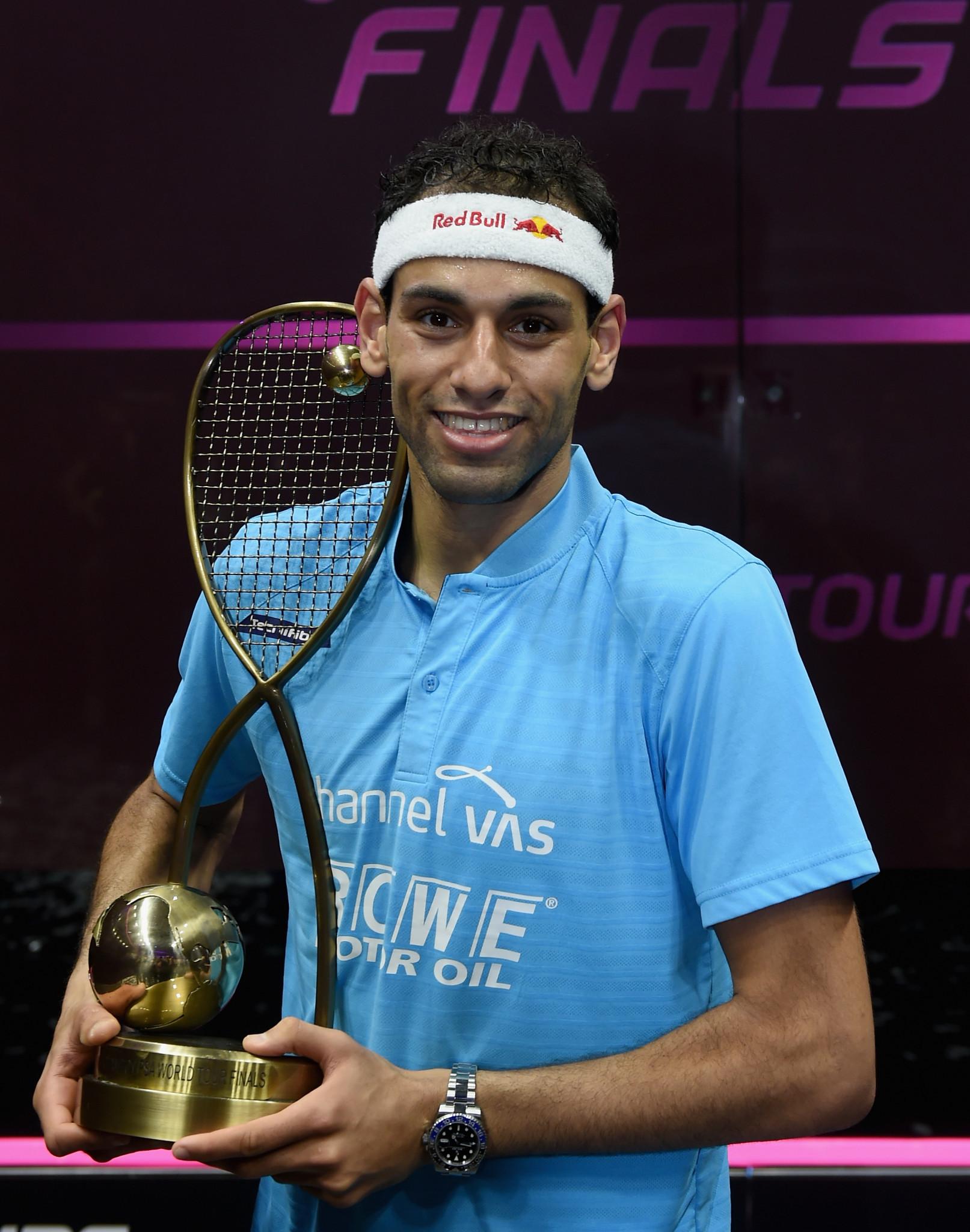 ElShorbagy returns to top of men's squash world rankings